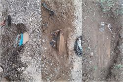 PKKnin köy yollarına döşediği patlayıcılar tespit edildi