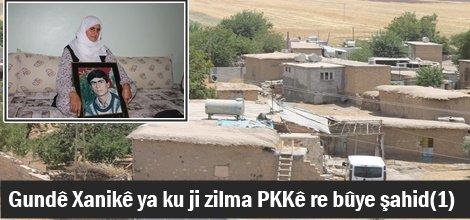 Gundê Xanikê ya ku ji zilma PKKê re bûye şahid(1)