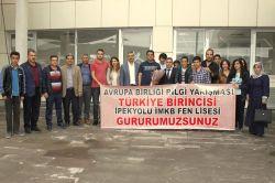 Türkiye birincileri Van'a döndü
