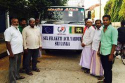 Avrupa Yetim-Der'den Sri Lanka'da selzedelere yardım