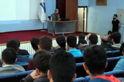 Ağrı İbrahim Çeçen Üniversitesi'nde Mavi Marmara ve Özgür Kudüs konferansı foto