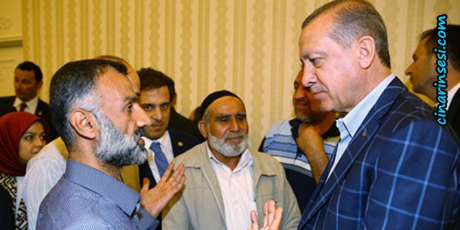 """""""Erdogan bi malbatên şehîdên 6-7ê Cotmehê re hevdîtin kir"""""""