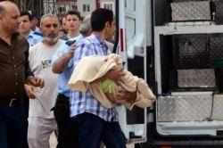 12'inci kattan düşen Suriyeli bebek hayatını kaybetti