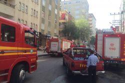 İş yerinde çıkan yangında maddi hasar oluştu