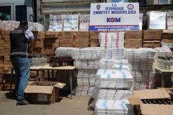 308 bin paket kaçak sigara ele geçirildi