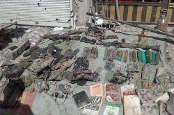 Şırnak'ta PKK'ye ait mühimmat ele geçirildi