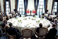 Cumhurbaşkanı Erdoğan, Sayıştay üyeleriyle bir araya geldi