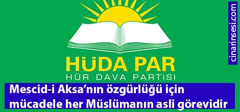 Mescid-i Aksa'nın özgürlüğü için mücadele her Müslümanın asli görevidir