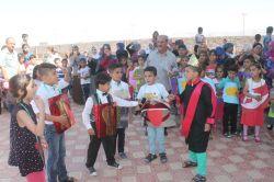 Mardin Kızıltepe'de Suriyeli öğrencilere yönelik okuma bayramı etkinliği video foto