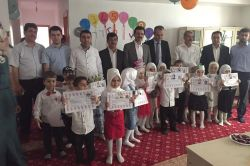 Cizre'de Kur'an Kursu öğrencilerine sertifika verildi
