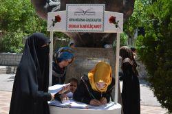 Batman'da genç bayanlara yönelik islami bilinç anketi video foto