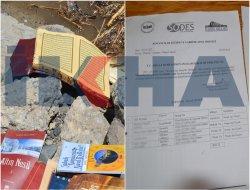 Qur'an, pirtûkên Gulenî û belgeyên fermî yên ku avêtine nav çem hat dîtin