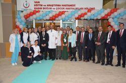 Van hastanelerine 118 sağlık personeli atandı