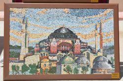 Atık seramiklerden sanat eseri oluşturdular video foto