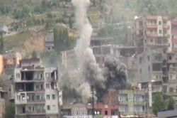 Şırnak'ta 50 ton patlayıcı imha edildi foto