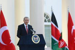 Cumhurbaşkanı Erdoğan Kenya'da gazetecilerin sorularını yanıtladı
