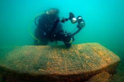Van Gölü'nün altından tarih bulundu video foto