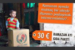 Avrupa Yetim-Der Ramazan'da binlerce yetime ulaşacak video foto