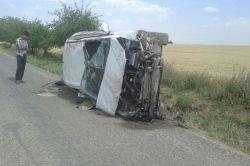 Mardin Kızıltepe'deki trafik kazasında aynı aileden 4 kişi yaralandı foto