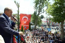 Cumhurbaşkanı Erdoğan, Abdullahağa Camii'nin açılışına katıldı