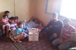 Iğdır Üniversitesi öğrencilerinden mağdur ailelere yardım foto