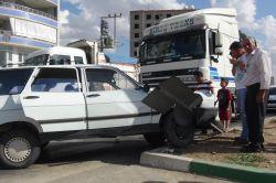 Kızıltepe'de trafik kazası: 2 yaralı foto