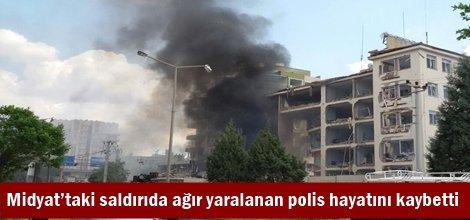 Midyat'taki saldırıda ağır yaralanan polis hayatını kaybetti