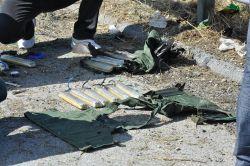Patlamaya hazır 2 canlı bomba yeleği bulundu