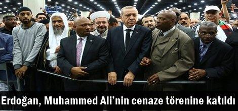 Cumhurbaşkanı Erdoğan, Muhammed Ali'nin cenaze törenine katıldı