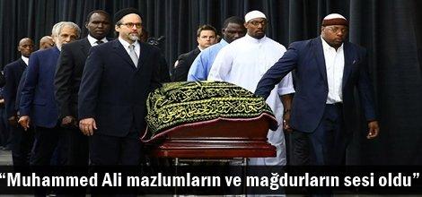 """""""Muhammed Ali, mazlumların ve mağdurların sesi oldu"""""""