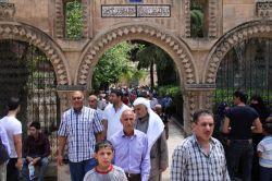 Ramazanın ilk Cuma namazına yoğun ilgi