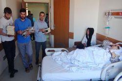 Hastalara Kur'an-ı Kerim ve seccade hediye edildi