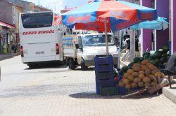 Karlıova'daki kaldırım ve yol işgaline tepki foto