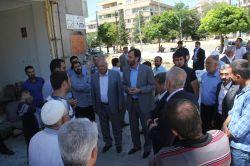 HÜDA PAR bombalı saldırıda zarar gören Midyatlıları ziyaret etti-foto