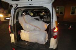 Diyarbakır'da 252 kilo esrar ele geçirildi foto