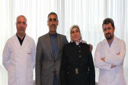 Hediye Öz karaciğer ve böbreğindeki kitlelerden tek ameliyatta kurtuldu