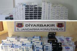 Diyarbakır'da kaçak sigara baskını