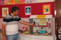 Kanuni Sultan Süleyman İmam Hatip Ortaokul Öğrencilerinin el işi çalışmaları sergileniyor foto