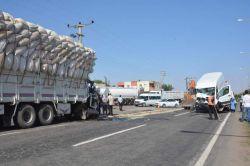 Siverek'te kamyon ile minibüs çarpıştı: 1 yaralı foto