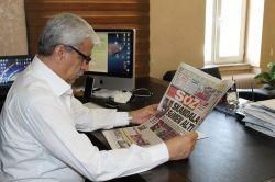 Skandalı manşetine taşıyan Diyarbakır Söz Gazetesi'nin bugünkü baskıları çalındı