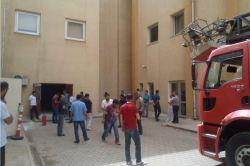 Kozluk Devlet Hastanesinde yangın paniği foto