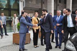Enerji Bakanı Berat Albayrak Batman'da foto