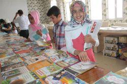"""Bismil'de """"Karneni Getir, Kitabını Götür"""" Kampanyası foto"""
