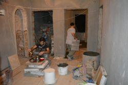 Ramazan'da işçiler gece vardiyasında foto