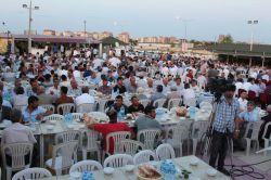 Kahta'ta da 2 bin 500 kişiye iftar verildi