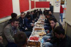 Kar-Der'den gençlere iftar yemeği