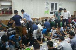 Şanlıurfa Yakubiye-Der iftar yemeği verdi