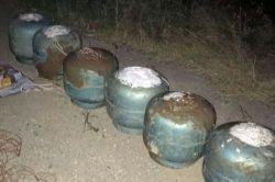 Bismil'de yola tuzaklanmış 6 patlayıcı bulundu