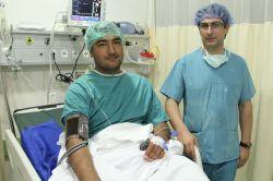 Bursa'da ilk endoskopik omurga ameliyatı yapıldı