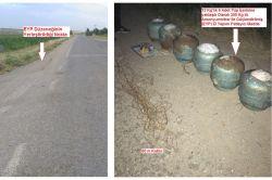 Bismil-Savur karayolunda bomba düzenekleri bulundu